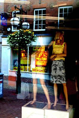Look Back In Me Art Print by Jez C Self