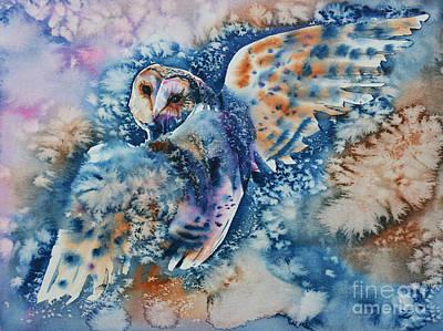 Painting - Look Back by Zaira Dzhaubaeva
