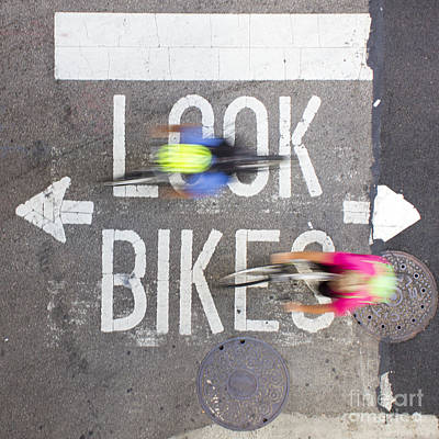 Chicago Photograph - Look Bikes / Chicago 29 by Spencer McNeil