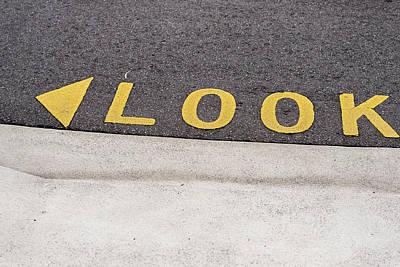 Photograph - Look - Canberra - Australia by Steven Ralser