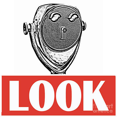 Look Art Print by Edward Fielding
