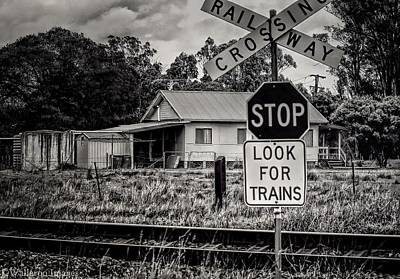 Photograph - Look For Trains by Wallaroo Images