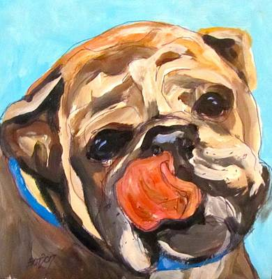 Painting - Look I Can Lick My Nose by Barbara O'Toole