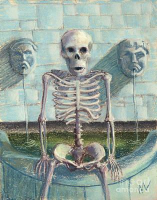 Ayn Rand Wall Art - Pastel - Look Im The Fountainhead by Marie Marfia