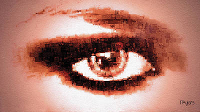 Digital Art - Look Into My Eye by Paula Ayers