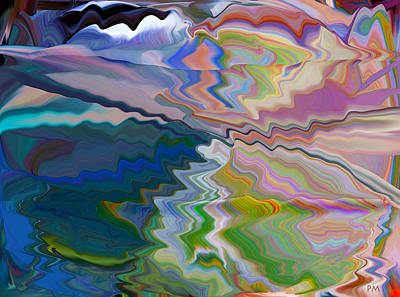 Digital Art - Look Into The Water by Phillip Mossbarger