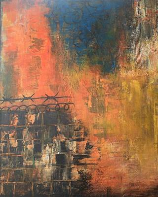 Painting - Look Past Confinement  by Monica Martin
