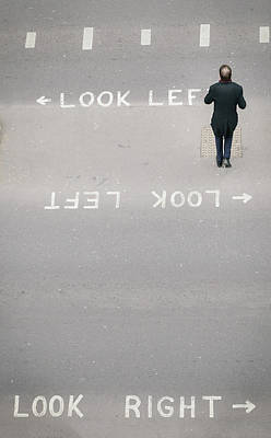 Photograph - Look Right, Look Left Or Get Run Over by Alexandre Rotenberg