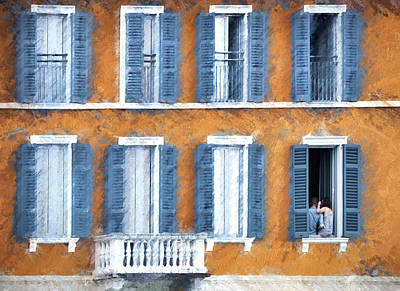 Photograph - Look Through Any Window by Jim Hill