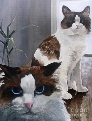 Painting - Look Who Is Grumpy Now by Diane Daigle