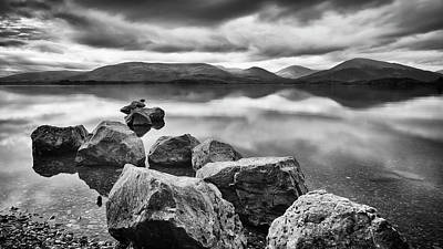 Photograph - Looking Across Loch Lomond Scotland by Alex Saunders