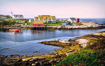 Photograph - Looking Across Peggys Cove by Carolyn Derstine