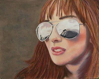 Wall Art - Pastel - Looking Ahead by Laura Gabel