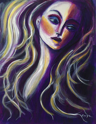 Painting - Looking Askance by Anya Heller