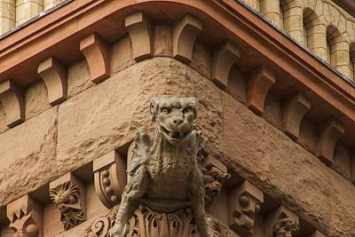 Photograph - Looking At Me Looking At You At Old City Hall  by Hany J