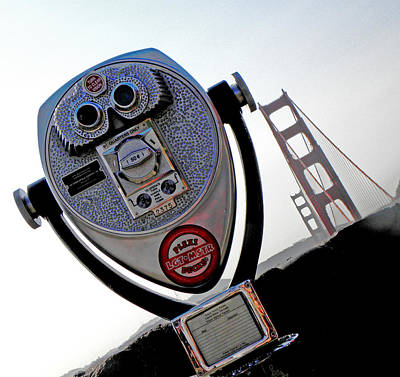 Photograph - Looking At The Golden Gate Bridge One by Elizabeth Hoskinson
