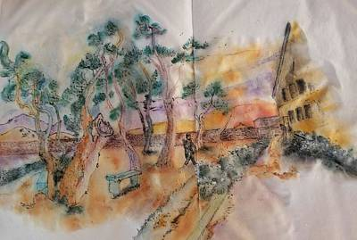 Painting - Looking At Van Gogh Album by Debbi Saccomanno Chan