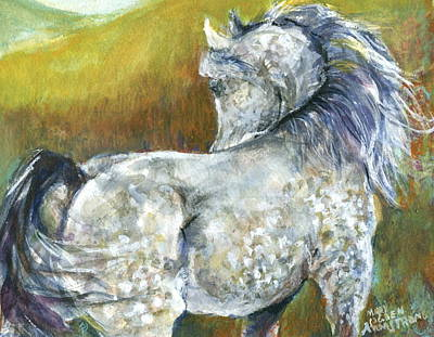 Looking Back Art Print by Mary Armstrong