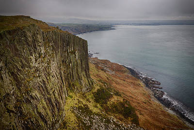 Photograph - Looking Back To Ballycastle by Alex Leonard
