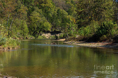 Photograph - Looking Down Bryant Creek by Jennifer White