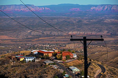 Photograph - Looking Down From Jerome Az Arizona by Toby McGuire
