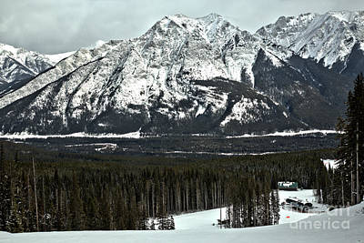 Photograph - Looking Down From Nakiska by Adam Jewell