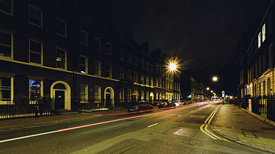 Photograph - Looking Down Gower Street By Night by Jacek Wojnarowski
