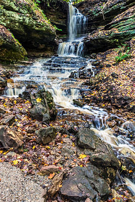 Photograph - Looking Down Horseshoe Falls by Lonnie Paulson