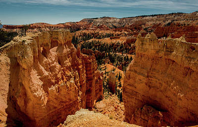 Photograph - Looking Down Into Bryce Canyon by Mike Shaw