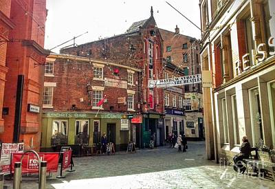 Photograph - Looking Down Mathew Street From Whitechapel by Joan-Violet Stretch