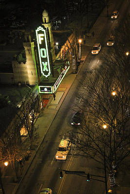 Photograph - Looking Down On The Fox Atlanta Georgia by Reid Callaway