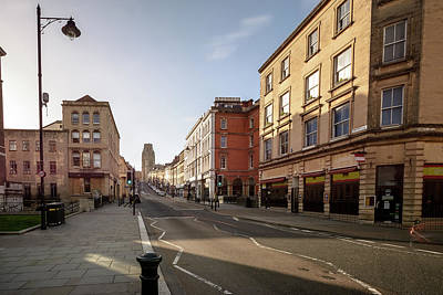 Photograph - Looking Down Park Street A Bristol England by Jacek Wojnarowski