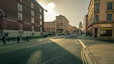 Photograph - Looking Down Park Street B Bristol England by Jacek Wojnarowski