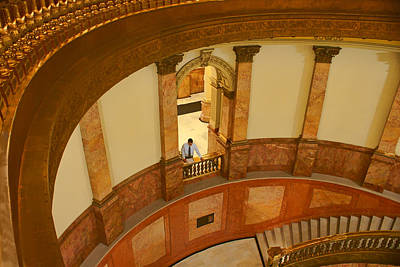 Photograph - Looking Down - Rotunda - Denver Capitol by Nikolyn McDonald