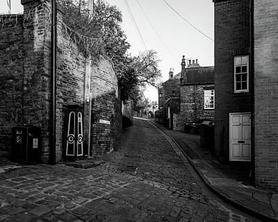 Photograph - Looking Down Well Lane Lincoln by Jacek Wojnarowski