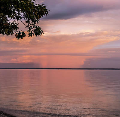 Photograph - Looking East As The Sunsets by Sally Sperry