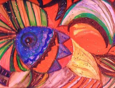 Looking For A Rainbow Art Print by Anne-Elizabeth Whiteway