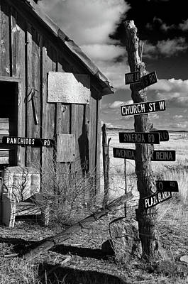 Photograph - Looking For A Sign? by Carolyn Dalessandro