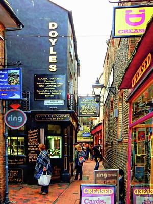 Photograph - Looking For A Sign In The Lanes Brighton by Dorothy Berry-Lound
