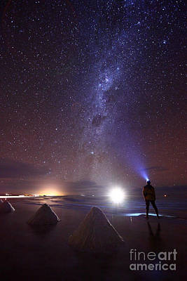 Astro Photograph - Looking For Extraterrestial Life by James Brunker