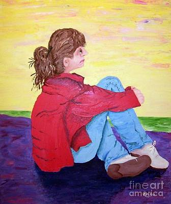 Painting - Looking For Hope by Lisa Rose Musselwhite