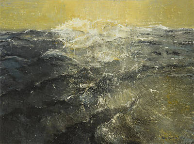 Looking For The Horizon Art Print by Azem Kucana