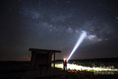 Photograph - Looking For The Milkyway by Melany Sarafis