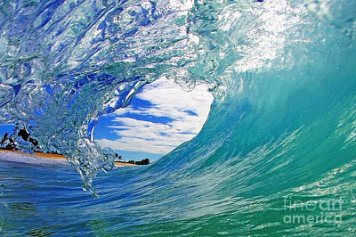 Surf Photograph - Looking Forward by Paul Topp