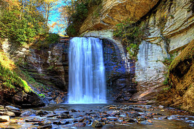 Photograph - Looking Glass Falls by Dale R Carlson