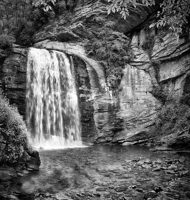 Art Print featuring the photograph Looking Glass Falls by Howard Salmon
