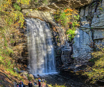 Photograph - Looking Glass Falls by Jane Luxton
