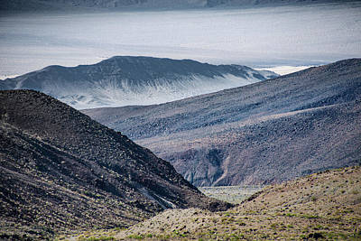 Photograph - Looking Into Death Valley by Michael Bessler