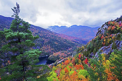 Photograph - Looking Into The Washbowl From Giant Mountain Keene Valley Ny Adirondacks by Toby McGuire