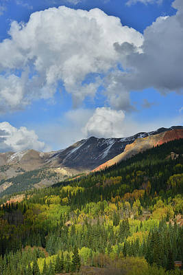 Photograph - Looking North From Red Mountain Pass by Ray Mathis